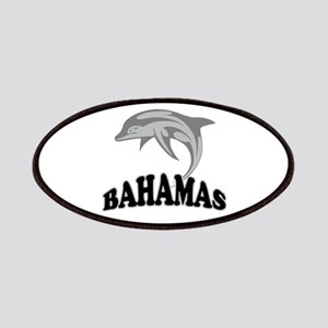Bahamas Dolphin Souvenir Patches